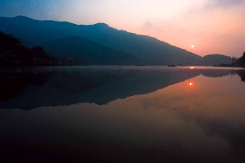 花亭湖美景